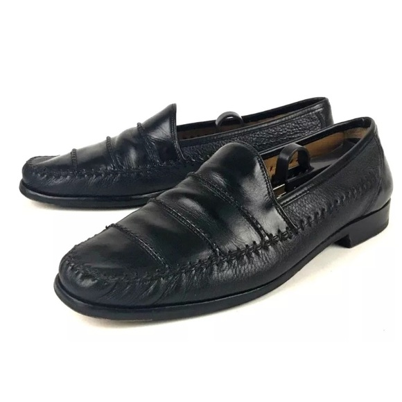 Mezlan Other - Mezlan Hand-Sewn Leather Loafers